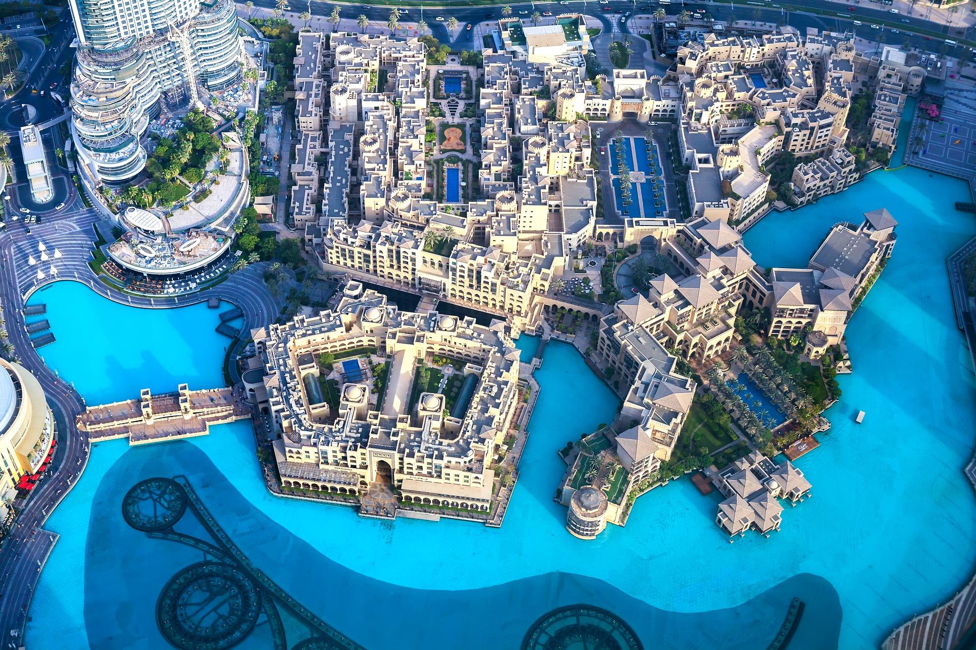 burj khalifa view from top