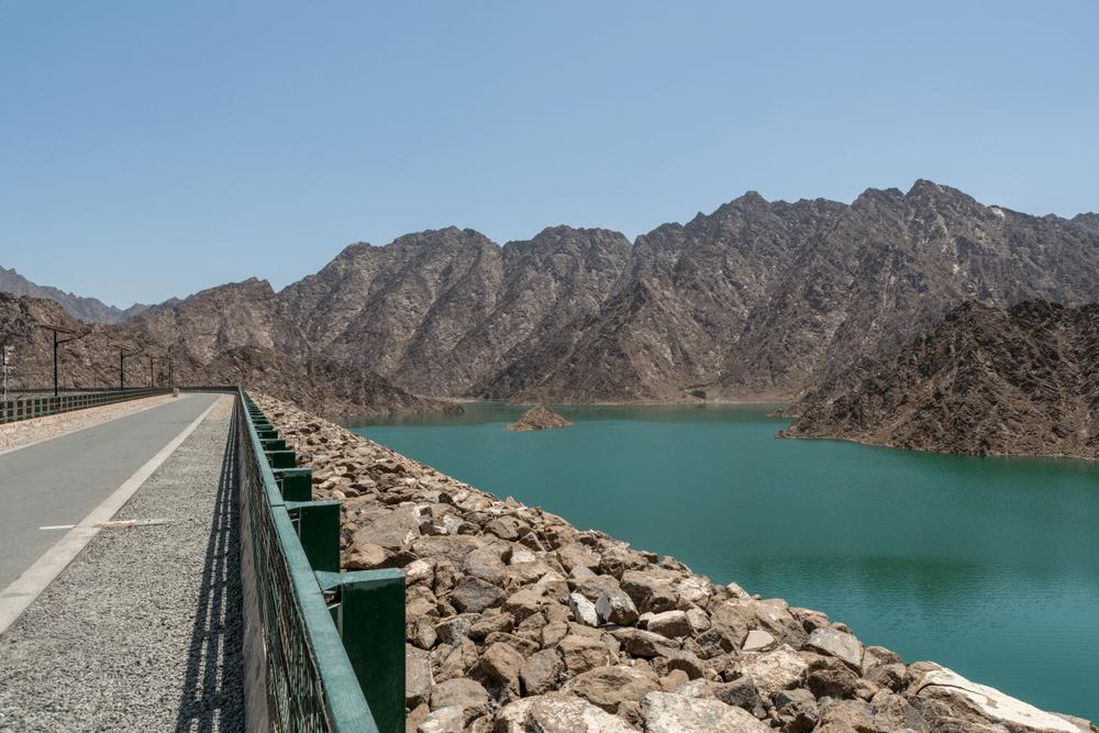 Hatta Dam View