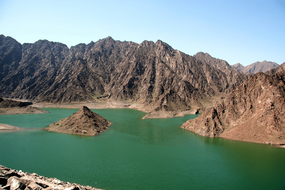 Spectacular View of Hatta Lake