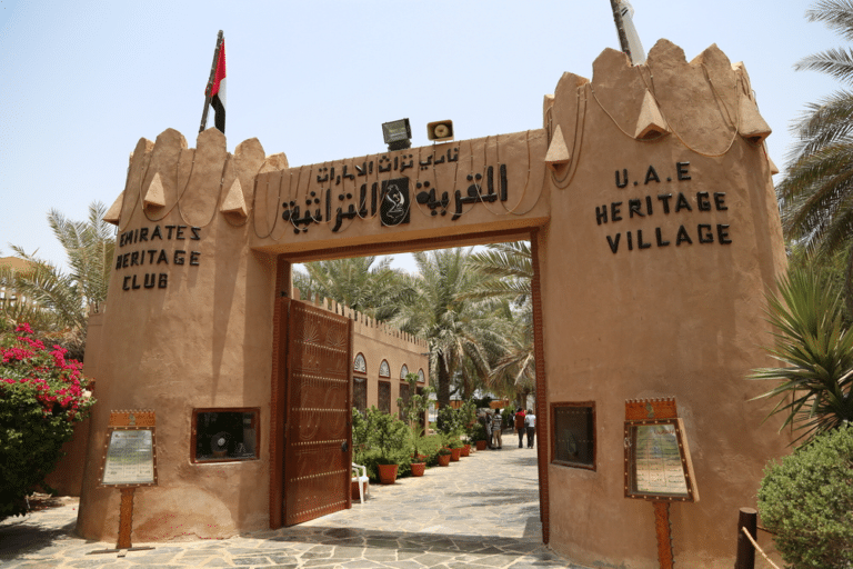 the heritage village abu dhabi