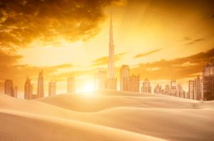 Dubai Desert Landscape
