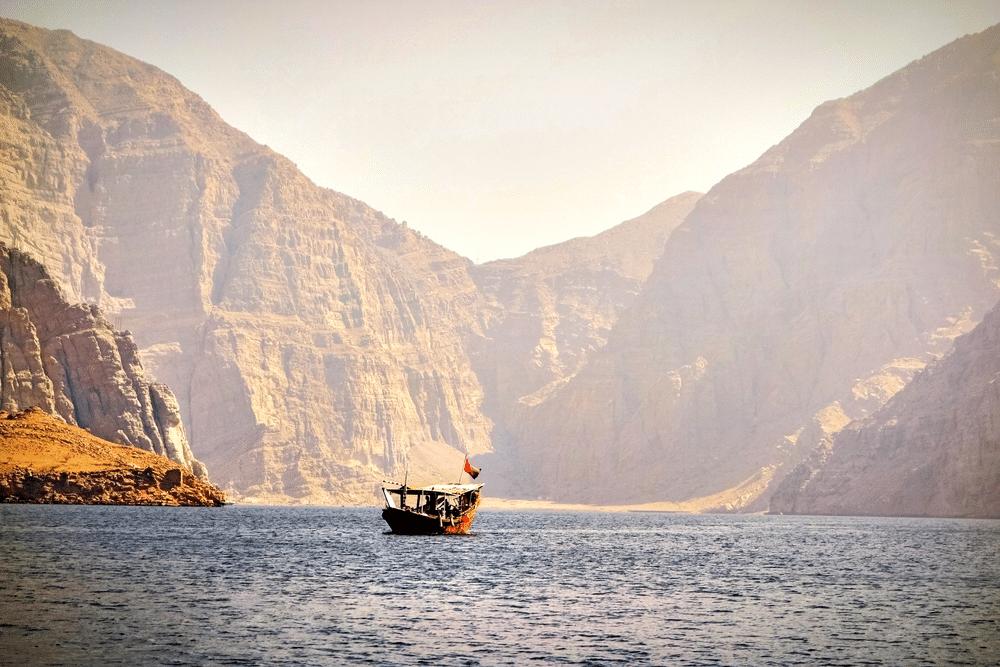 Cruising in Oman Sea