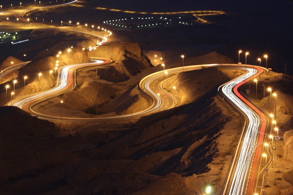 Night View From Jebel Jais Highest Point