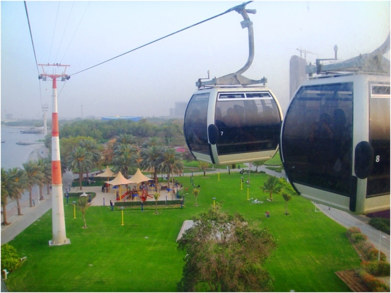 Dubai Creek Park Cable Car