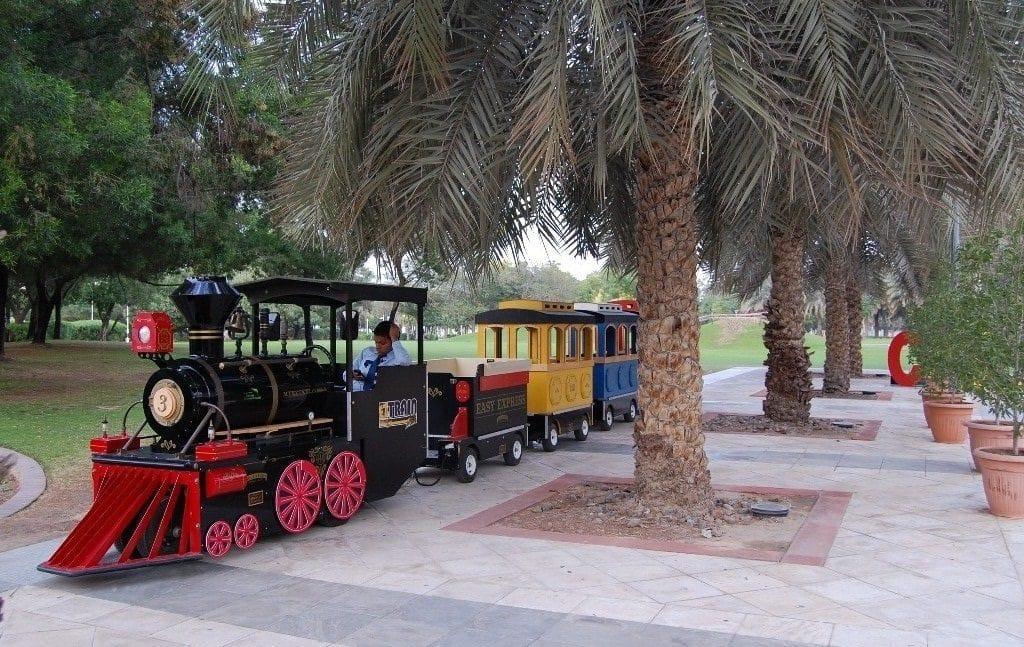 Mini Train Ride in Children City Dubai Creek