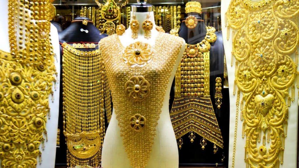 Gold Shop in Dubai