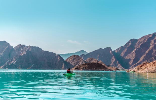 Kayaking in Hatta